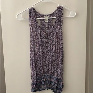 Forever 21 patterned paisley tank